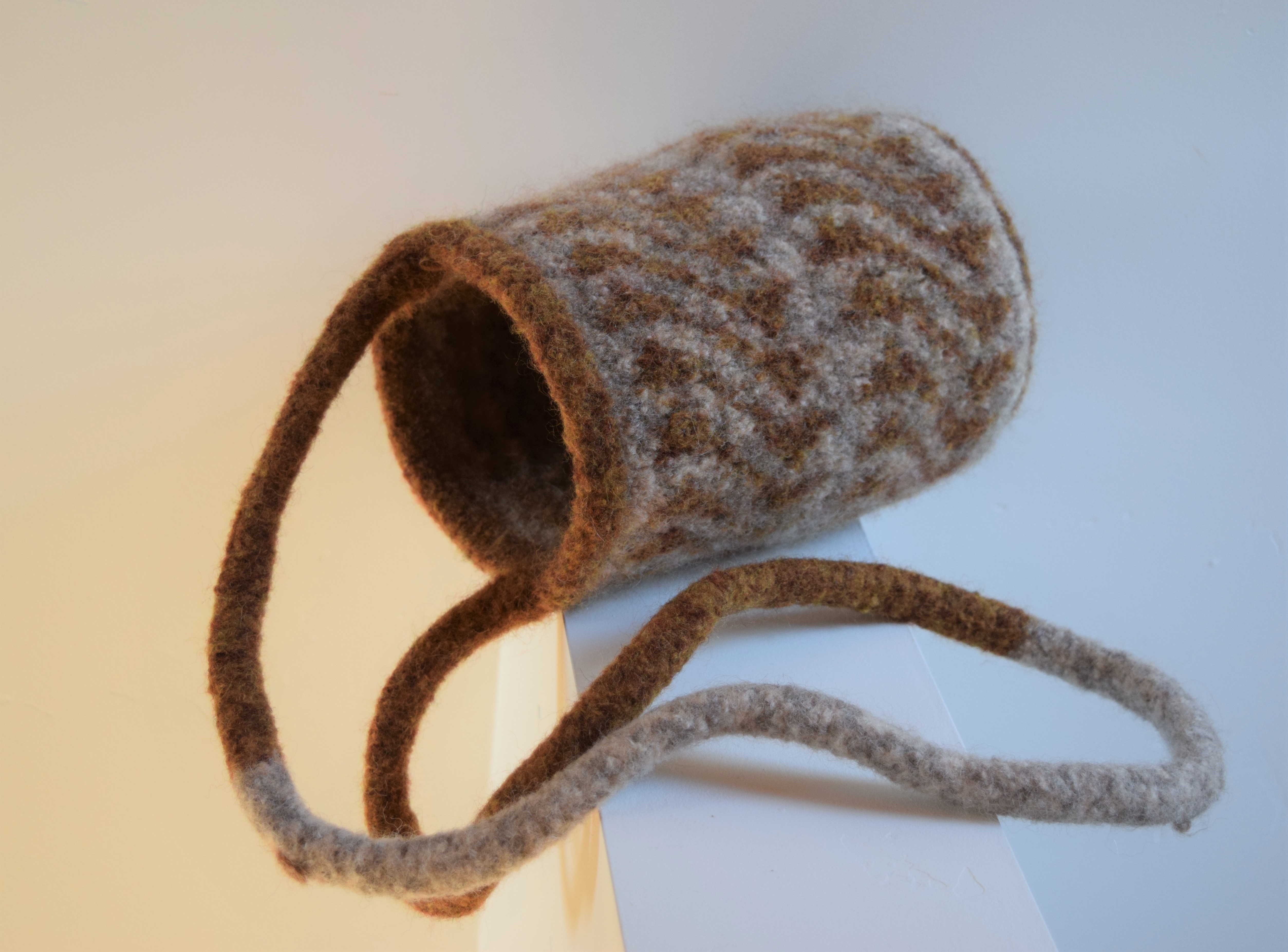 jenjoycedesign© felted knitting bag 4