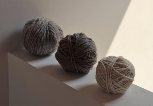 Alpaca wool yarn 100/% grey from my own herd 4ply 10 x 50g ball